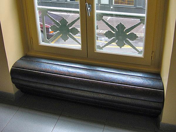 ferronnerie d 39 art caches radiateurs en acier martel atelier369. Black Bedroom Furniture Sets. Home Design Ideas