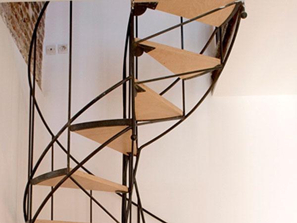 ferronnerie d 39 art rambarde et escalier en acier atelier369. Black Bedroom Furniture Sets. Home Design Ideas