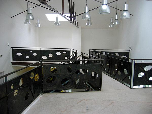 ferronnerie d 39 art escalier et rambardes en acier patin atelier369. Black Bedroom Furniture Sets. Home Design Ideas